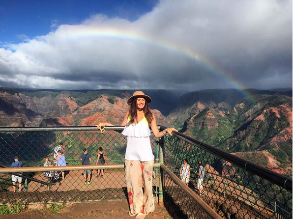 Rainbow Days:  Being a tourist while living in Hawaii, 2016