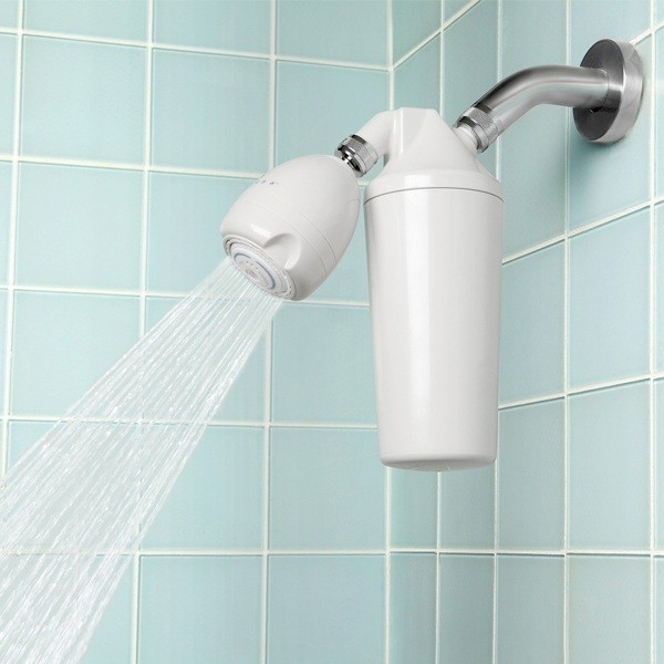Aquasana shower head water filter: a godsend for those with hard water!