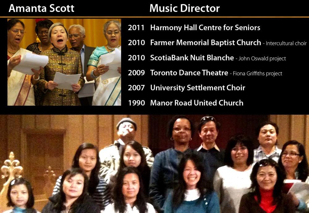 Amanta Scott Music Director