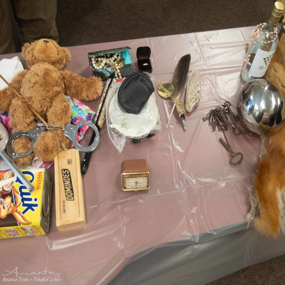 items on the table