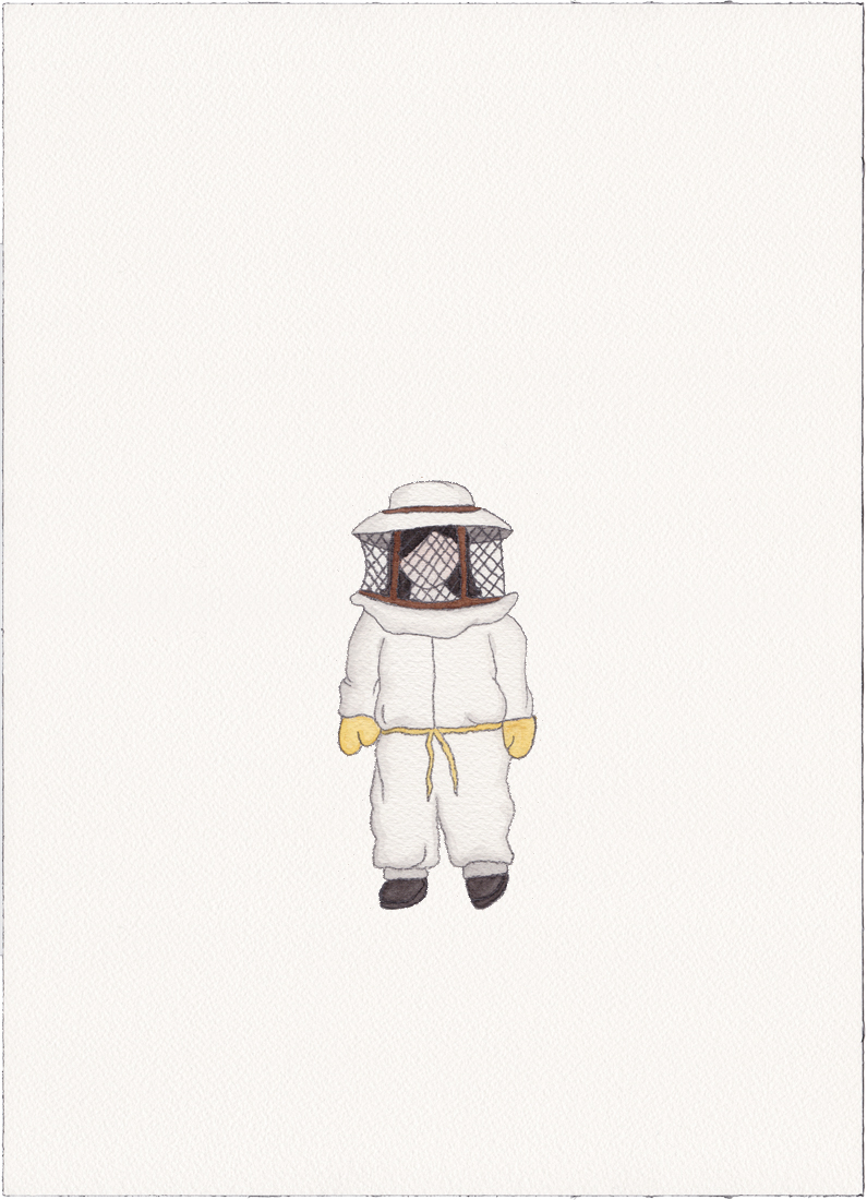 Beekeeper, 2014 (Drawing)