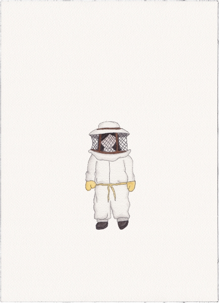 "Beekeeper, 2014 (from ""Uniforms"")"