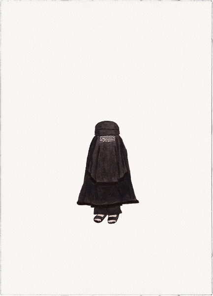 "Burqa, 2014 (from ""Uniforms"")"
