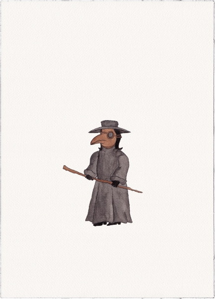 "Plague Doctor, 2014 (from ""Uniforms"")"