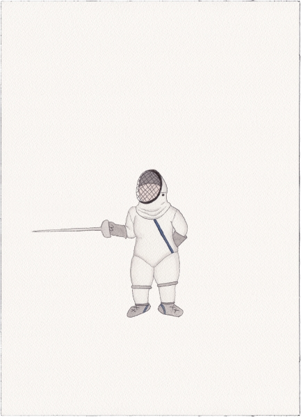 "Fencer, 2014 (from ""Uniforms"")"