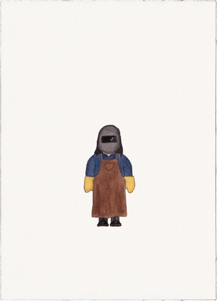 "Welder, 2014 (from ""Uniforms"")"