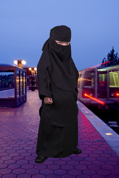 "Burqa, 2015 (from ""Uniforms"")"