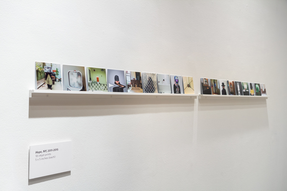 "Installation view of ""Hope, NY"""