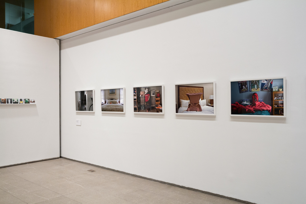 "Installation view of ""Anti-Self-Portraits"""