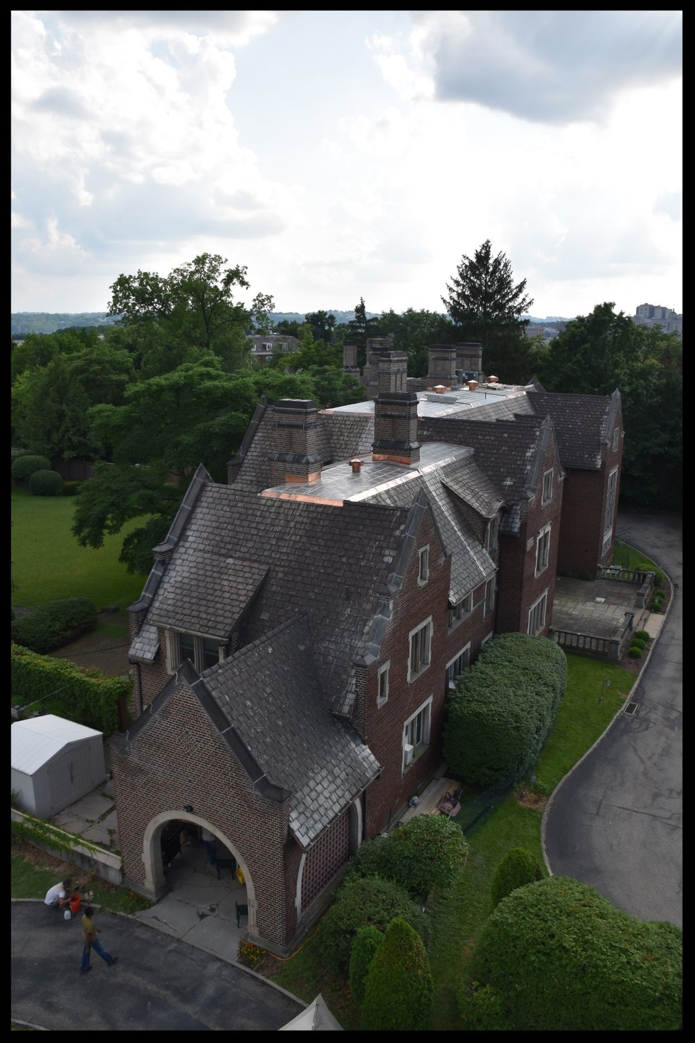 Recent work - Complete restoration of Heinz Mansion (now Warwick Foundation) located in Pittsburgh, PA. (Completed July 2016).