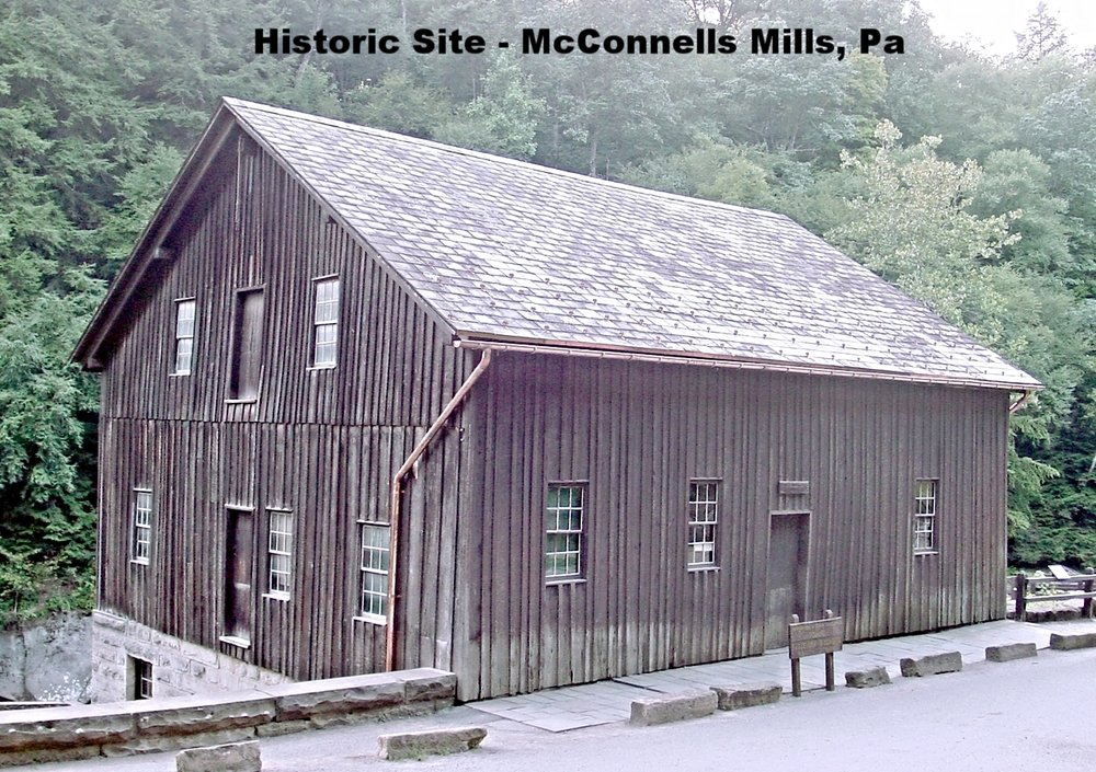 Historic Site - McConnells Mills Restoration in Western, Pa