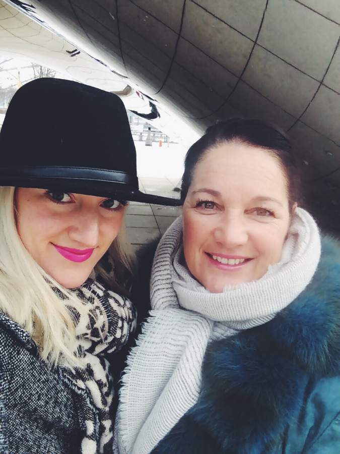 My Mom and I » Chicago, 2015.