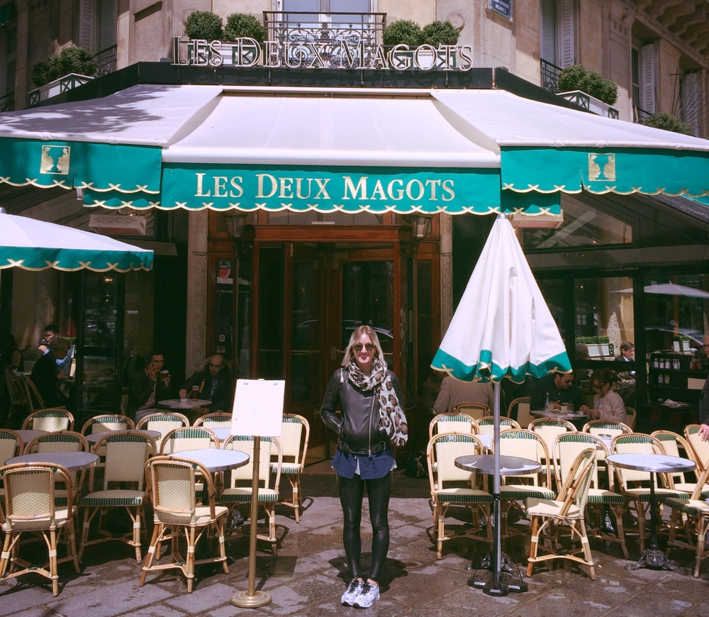 While I wasn't writing, I certainly made it a point to drink at a Paris establishment where Hemingway frequently imbibed. How's that for finding literary inspiration?