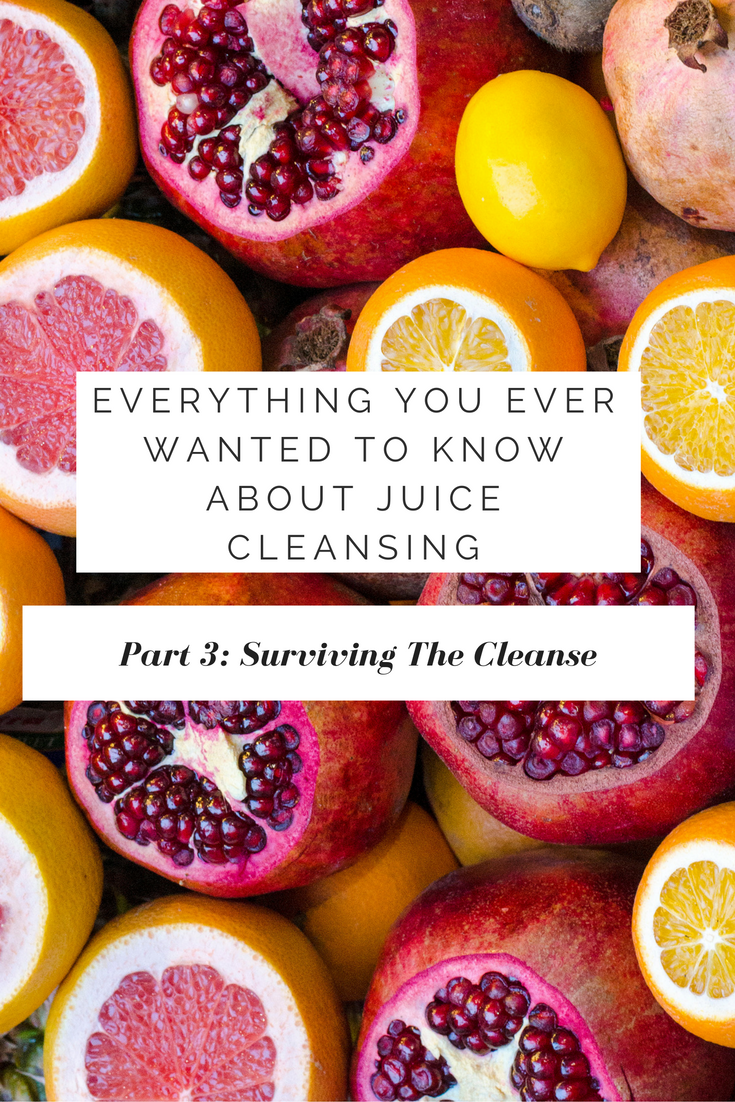 Surviving a Juice Cleanse