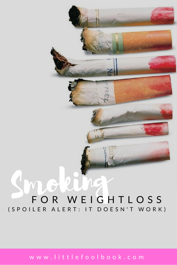 Smoking for Weightless