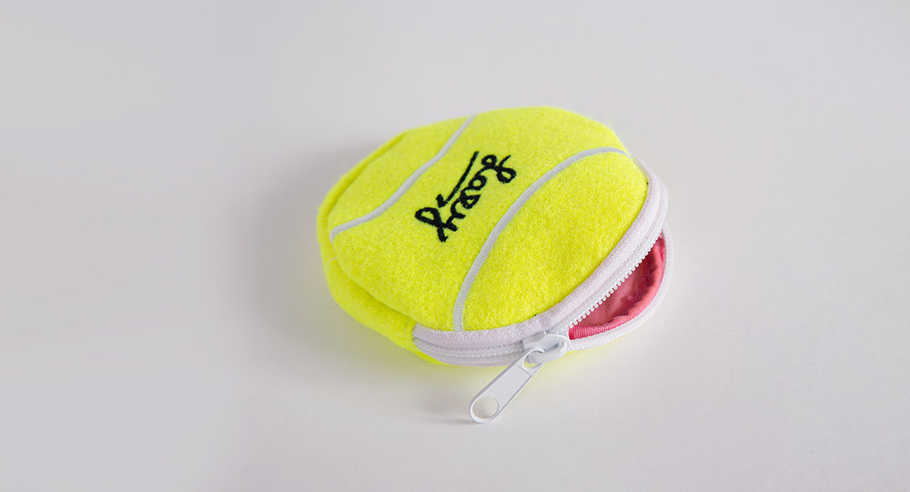 10. Lazy Oaf tennis purse  - You know, for that soiree in Wimbledon come July...