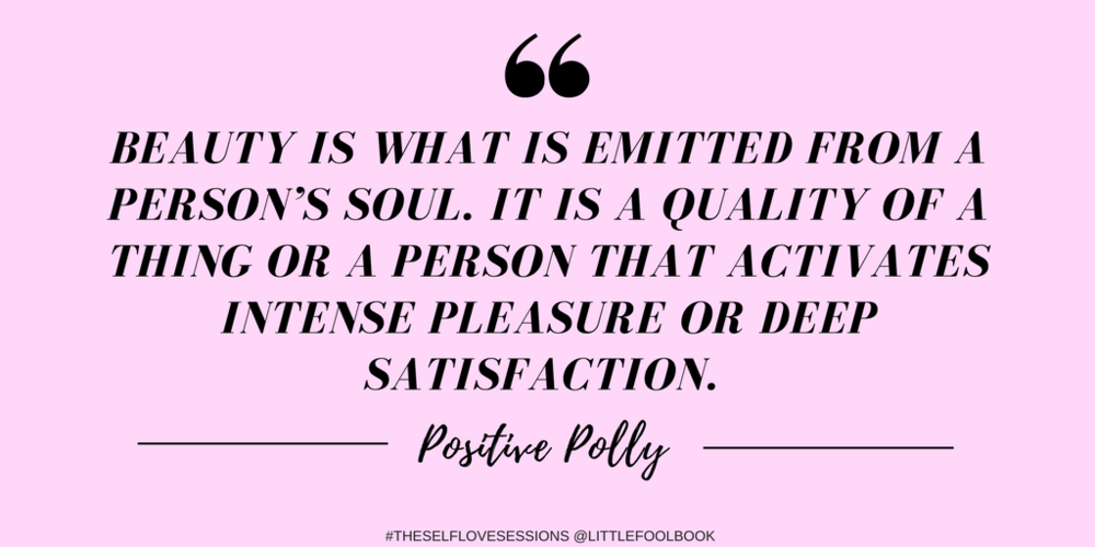 Positive polly #selflovesessions