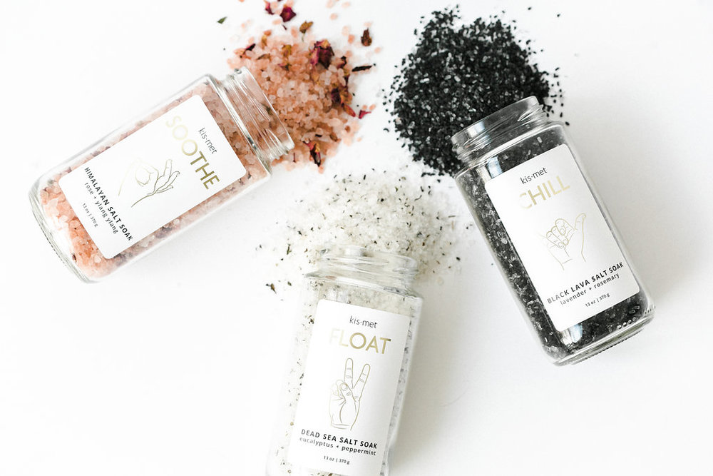 Kismet Salt Soak Trio - $60.00