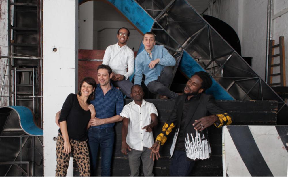 Pina Bausch Fellowship 2016,Ayelen Parolin,Euripides Laskaridis,Jared Onyango & Anton Valdbauer.