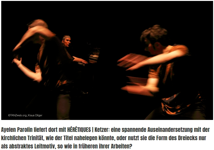 A review from Klaus Dilger in TanzWeb on 14.04.2018