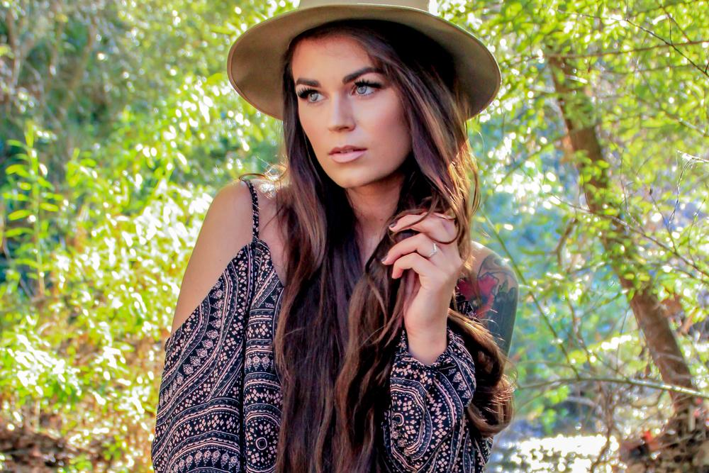 Model:  Alexandra Ford      MUA:  Erin Celine