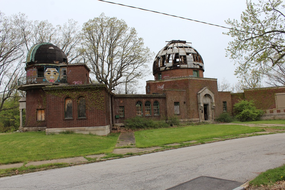 Warner and Swasey Observatory located in Cleveland, Ohio