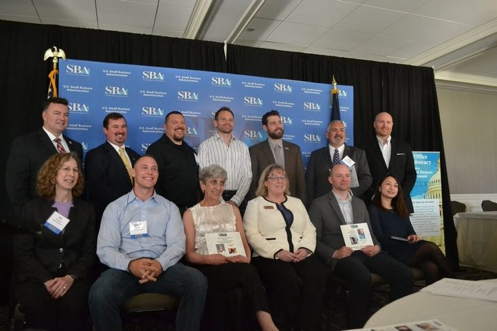 The winners are seen at the Manchester Country Club event.(MELISSA PROULX/Union Leader Correspondent)