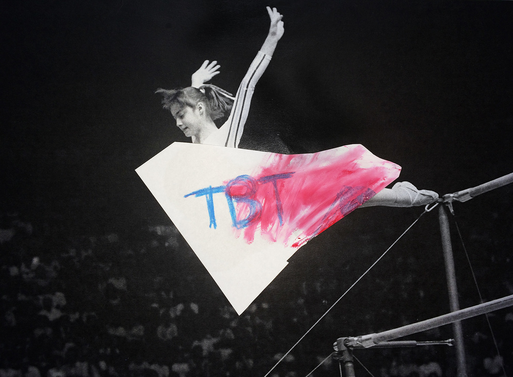 """TBT -- That Time at the Olympics""  CoverGirl ""What's Yours"" campaign"