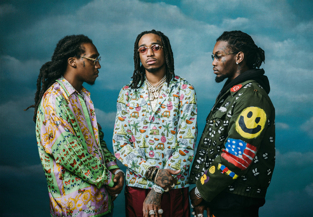 Migos - Inspired by  Anthony van Dyk,Charles I in Three Positions , 1635-6.   Photo Direction  Photographer: GL Askew II