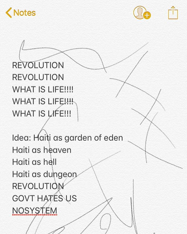 my notes 2 months ago • #haiti
