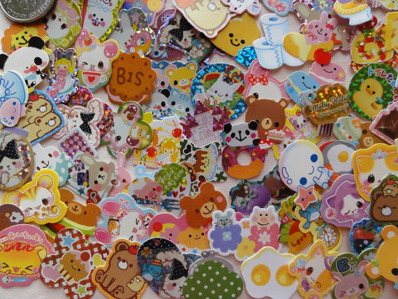 pile stickers