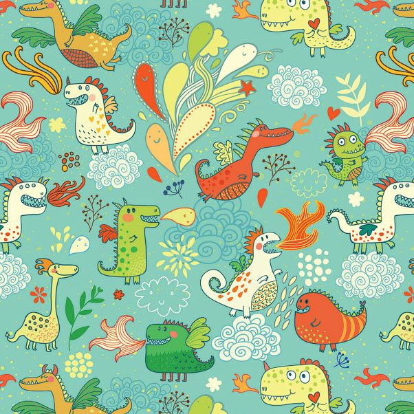 illustrator julia grigorieva dragon pattern found on https://catchoocutiepie.wordpress.com