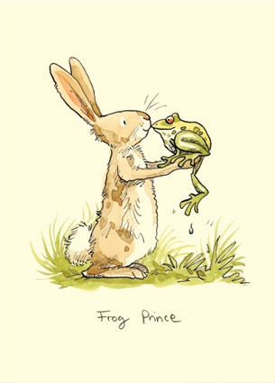 bunny and frog illustrated by anita jeram. found on https://catchoocutiepie.wordpress.com