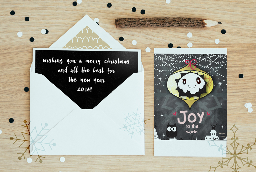 joy to the world. a warm fuzzy by catchoo & company.