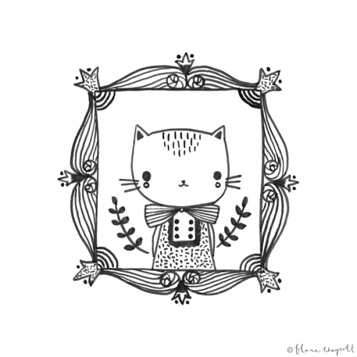 pretty cute sketch by flora waycott. blog post on catchoo and company.