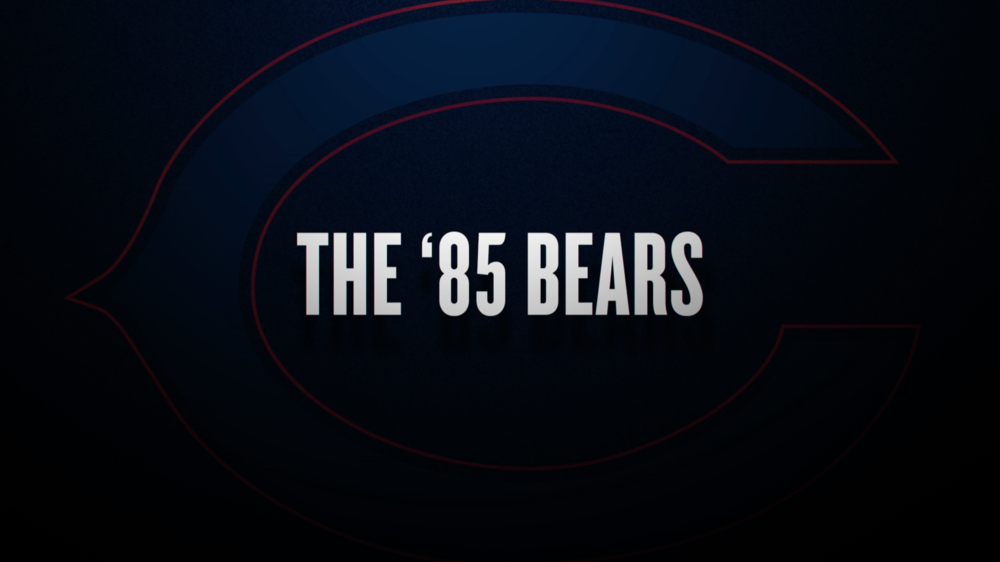 ESPN 30 FOR 30: THE '85 BEARS
