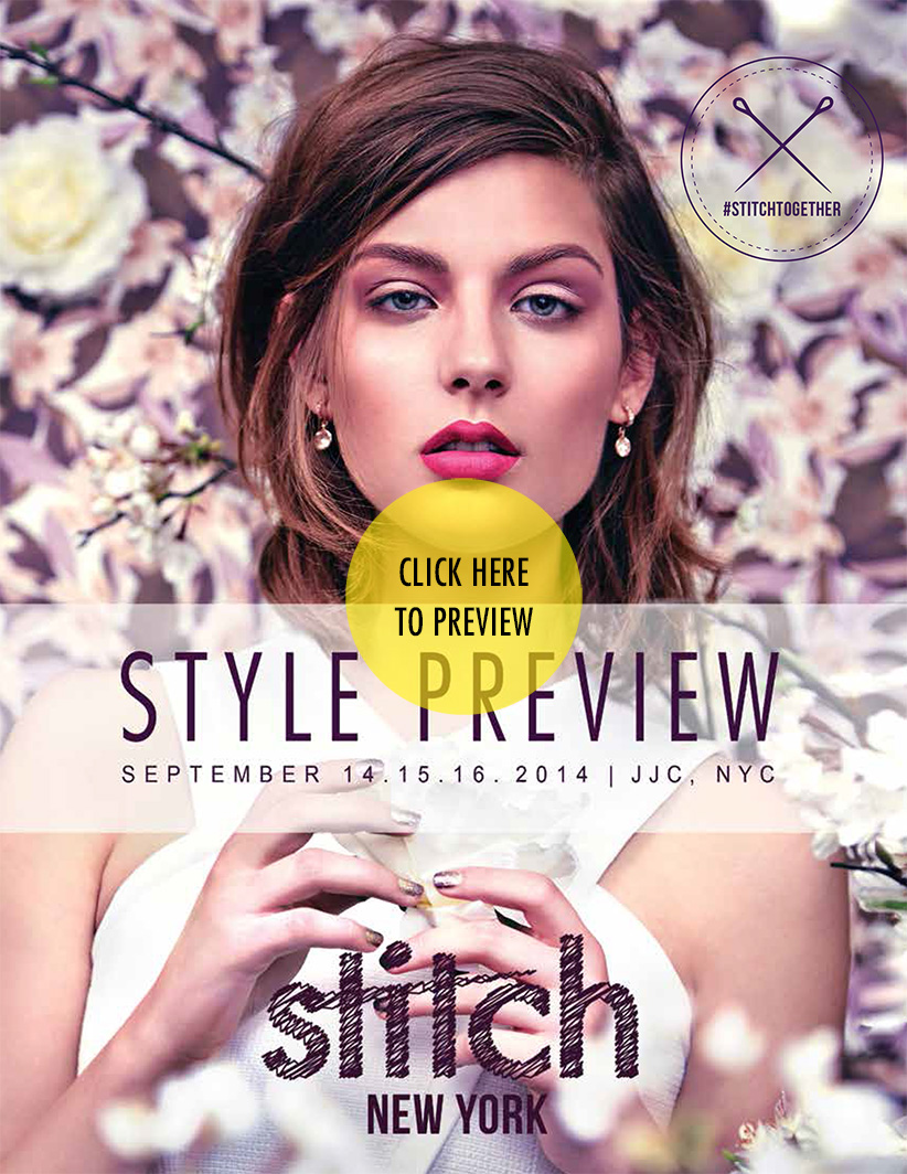 STITCHNY Style Preview - Featuring all the brands and looks for SS'15. This piece was printed and digitally distributed to all the invited retailers. I created, designed and laid out this entire book.