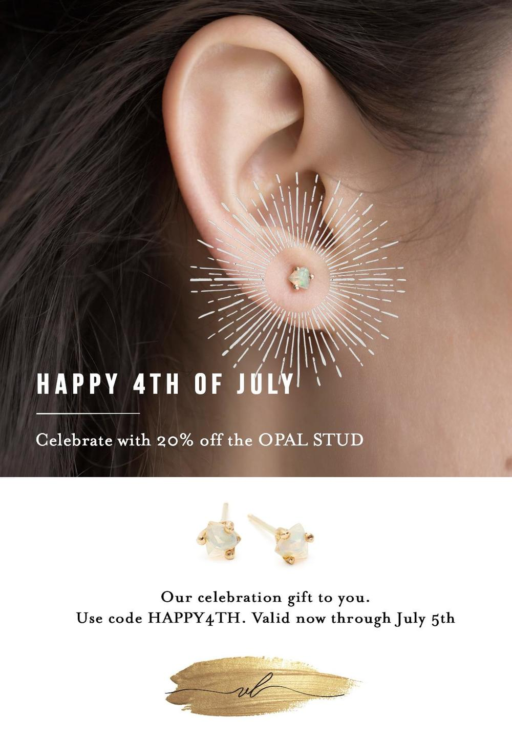 Email Campaign - Happy 4th of July