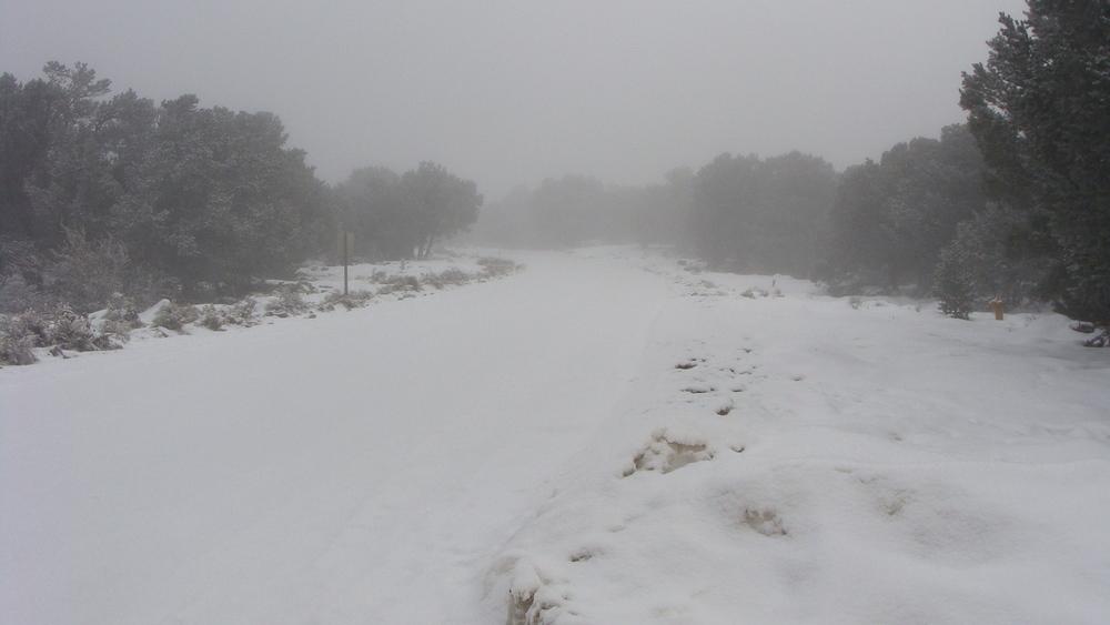snowy horizon
