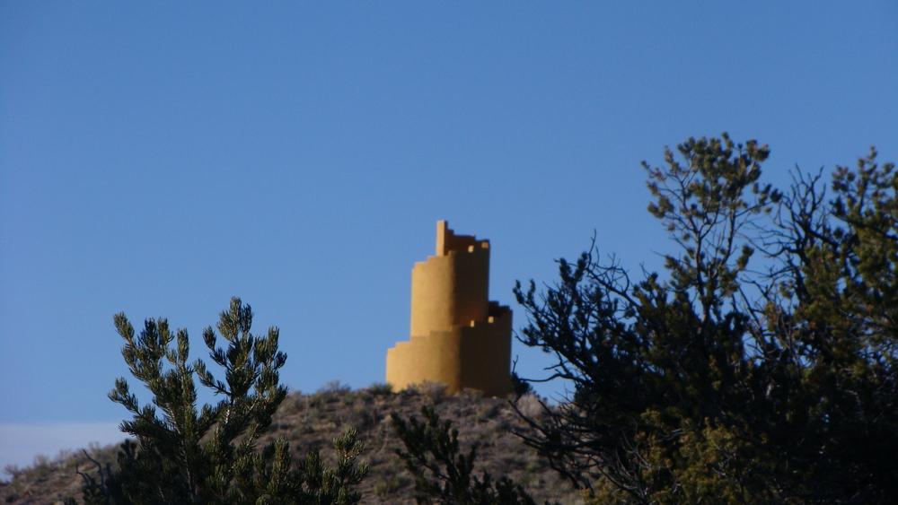 ziggurat in horizon