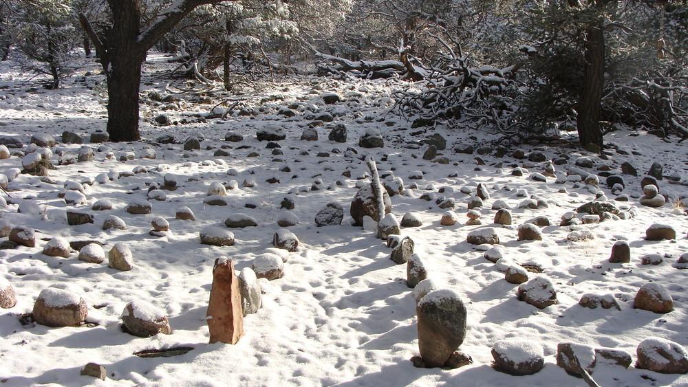 snowy labyrinth