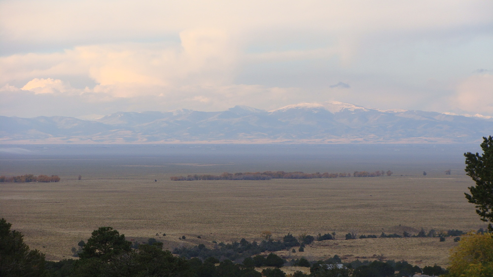 A beautiful, soft morning across the San Luis Valley to start my day.