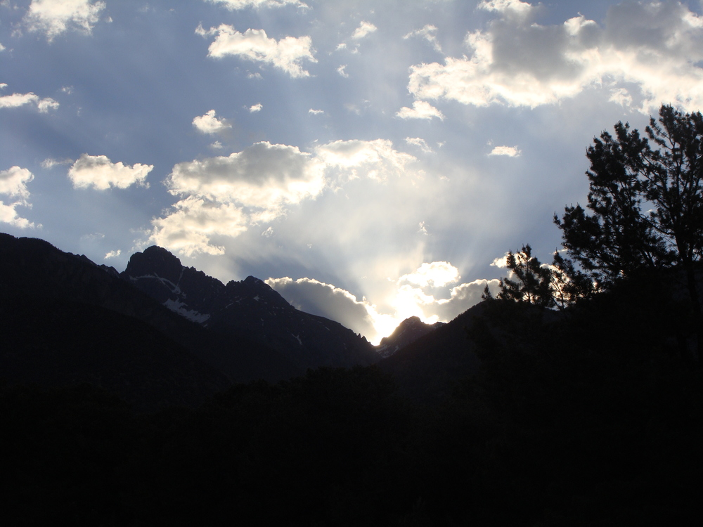 Another beautiful sunrise in the Sangre de Cristo Mountains