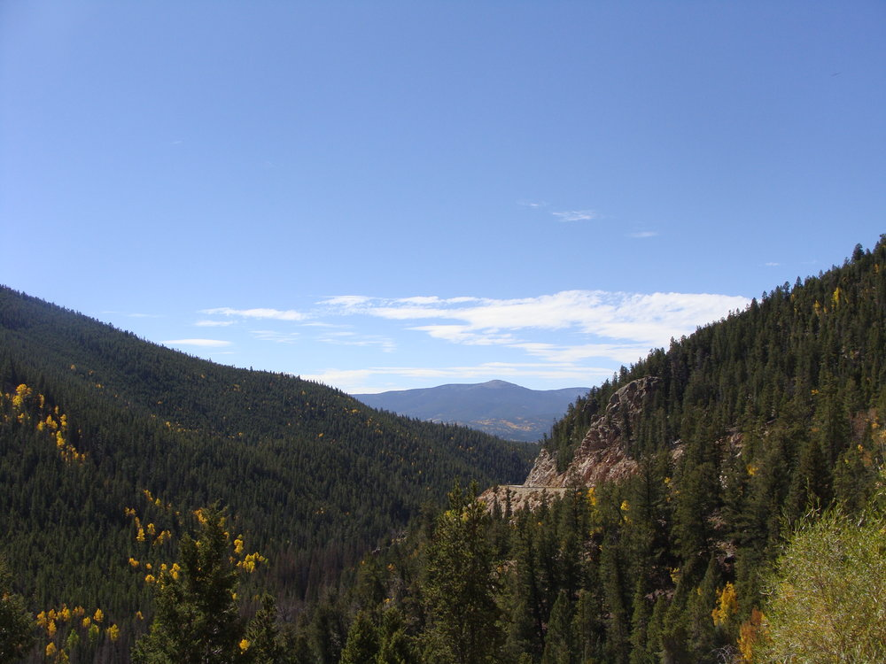 A Beautiful Fall Day in the Rockies