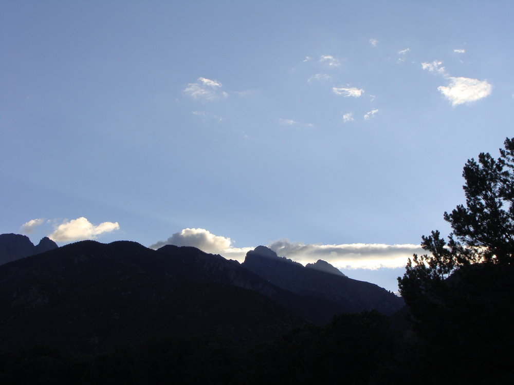 Another Beautiful Day Dawns in the Sangres