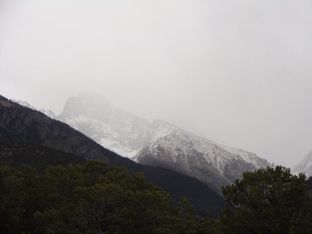 Snow! Blessed Snow - A Spring Storm Brings Moisture to the Peaks