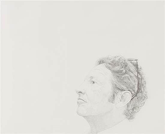 """Mentors/Robert Rauschenberg, 1976, stipple etching, 18"""" x 24"""""""