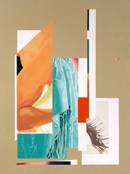 Drape, 1999, acrylic on canvas,