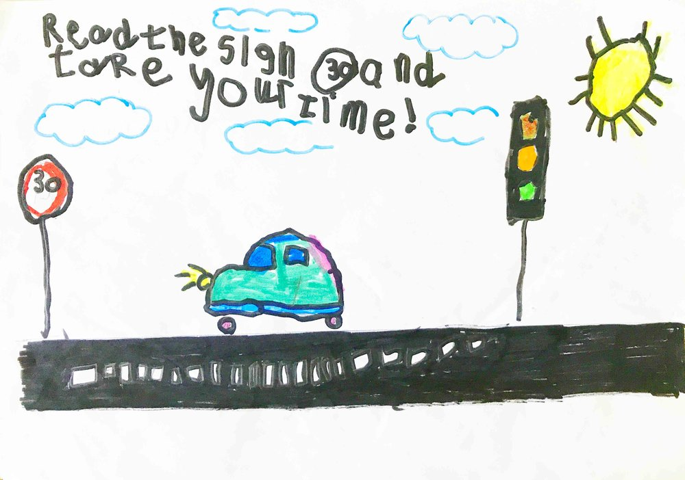 WINNER: Isra Ahmed, P1/2, Milton PS, Lesmahagow, South Lanarkshire
