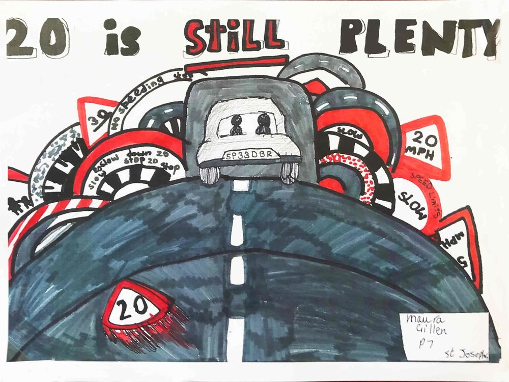 RUNNER-UP: Maura Gillen, P7, St Joseph's PS, East Dumbartonshire